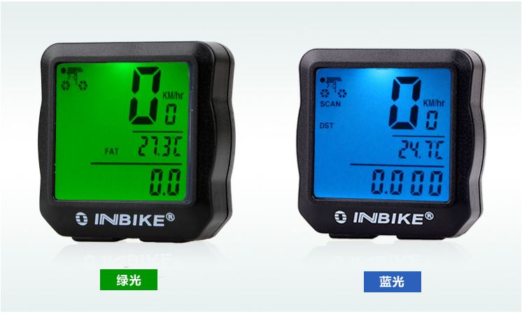 INBIKE Bike Digital Speedometer Waterproof