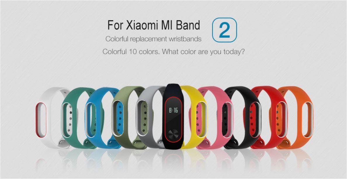 LEMFO Xiaomi Miband Silicone Wrist Bracelet