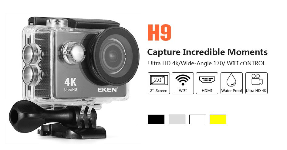 EKEN 4K Ultra HD Action Camera