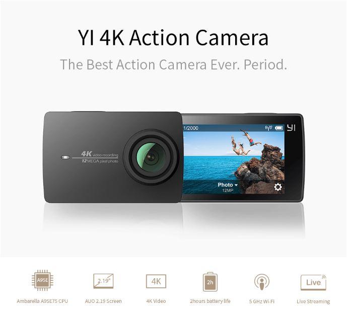YI 12MP Action Camera